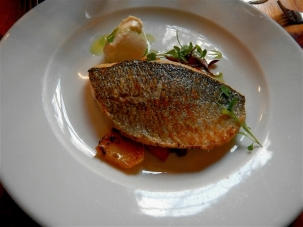 Pan Fried Fillet of Sea Bream